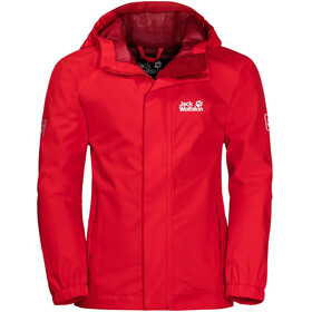 Jack Wolfskin Pine Creek Jacket Kids peak red
